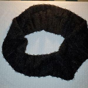 Black Infinate Scarf or Oversized Cowel Bl…